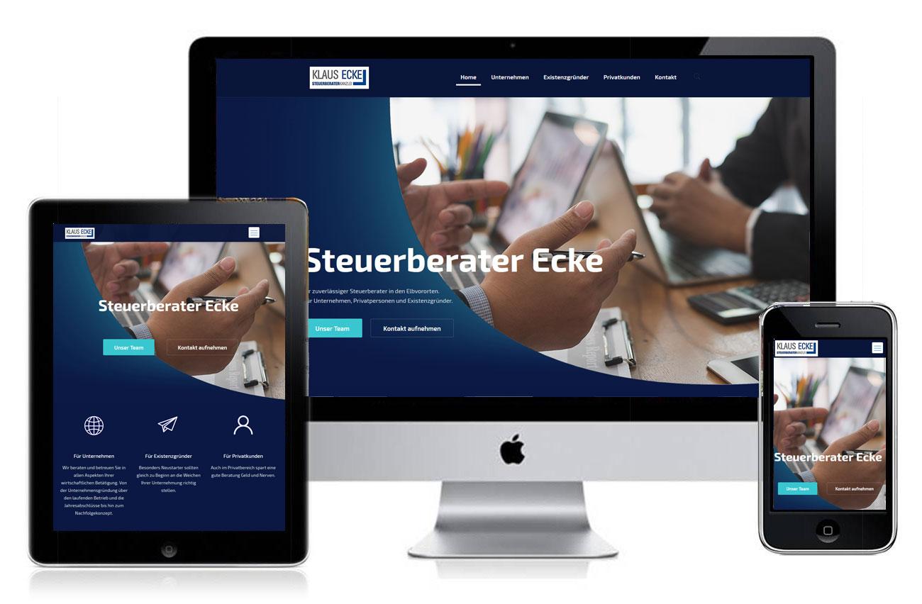 Homepage für Steuerberater